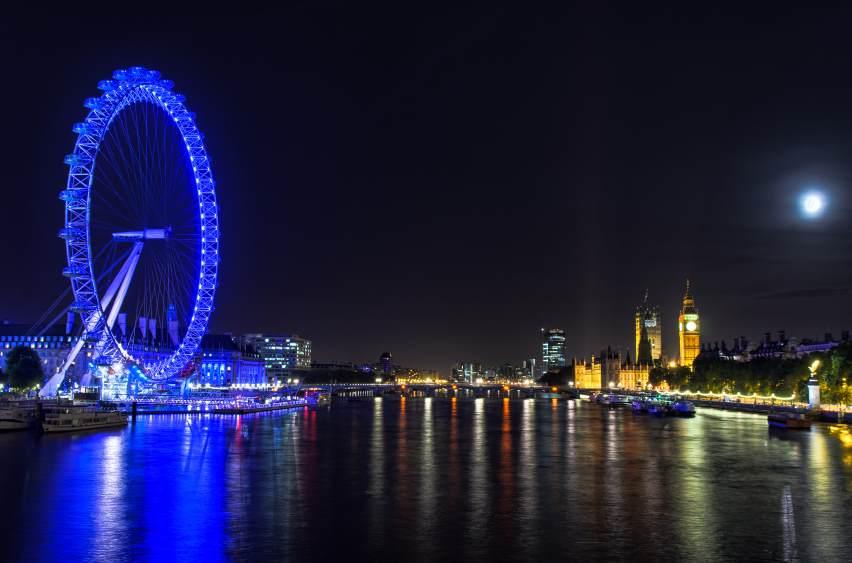 Pogled sa London Eye-a