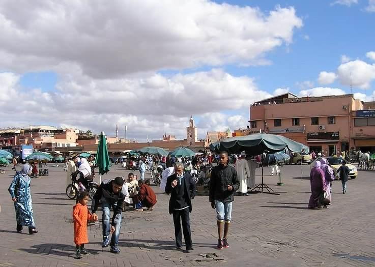 Maroko – Marakeš – crveni grad