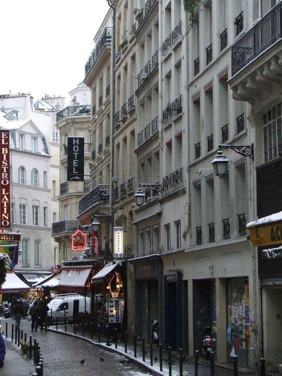 Pariz  zimi…