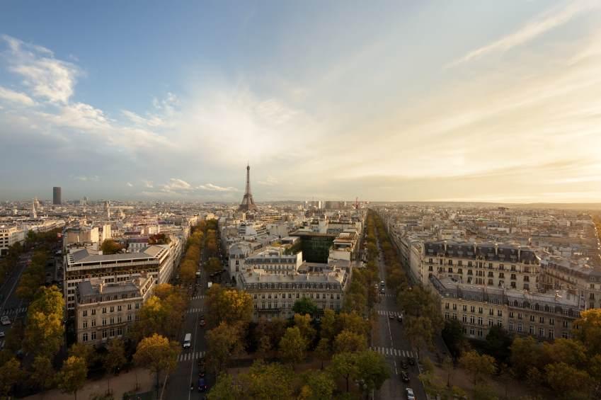 Pariz sa visine