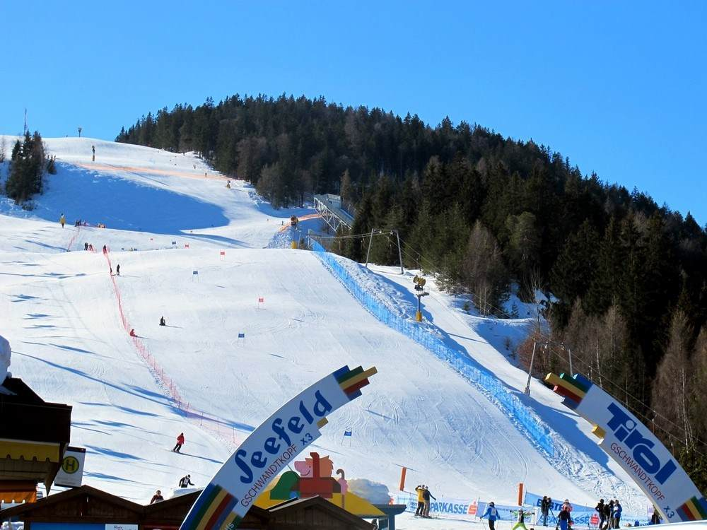 Zefeld i Stubaier glečer, Tirol