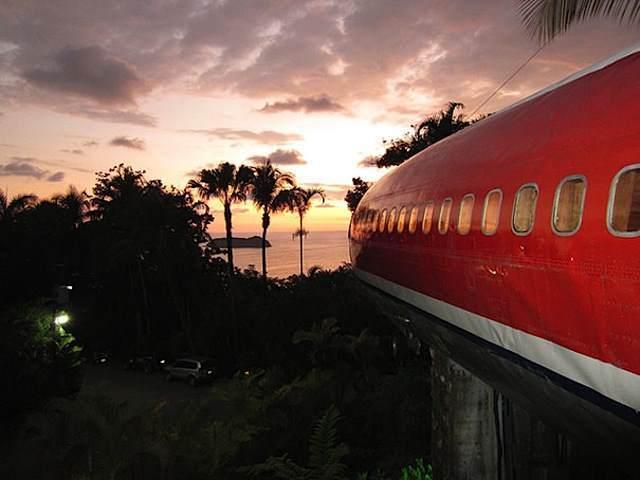 Olupina Boinga 727 postala luksuzni hotel