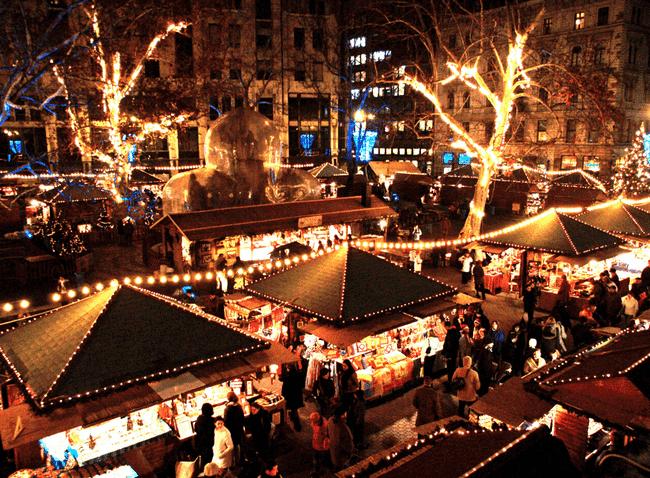 Božićni vašari u Budimpešti
