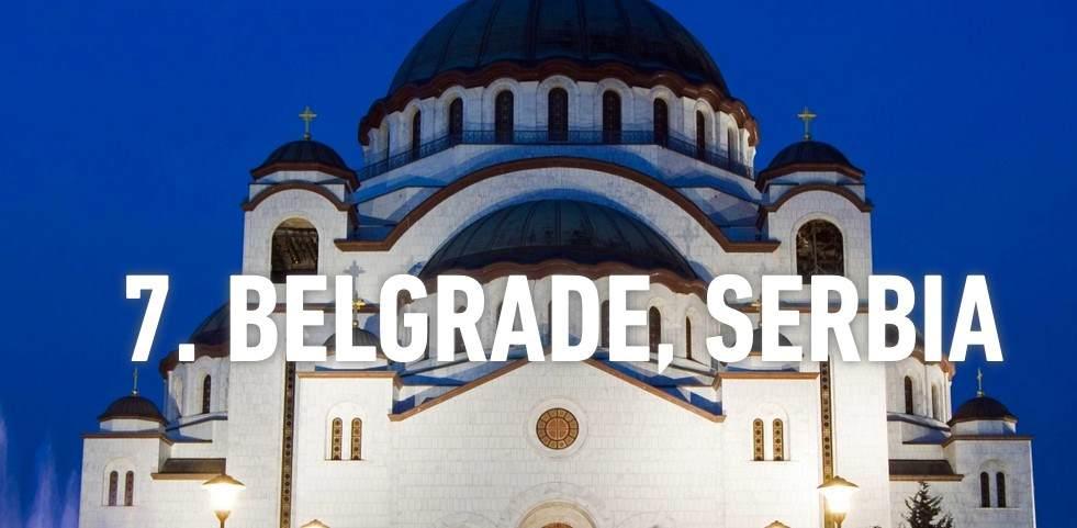 Beograd među top 10 gradova za 2015.
