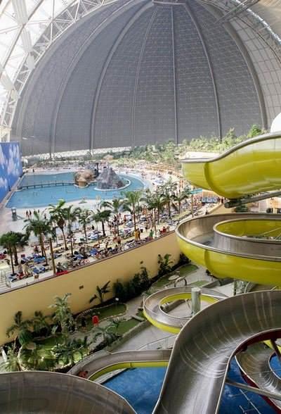 Tropical Islands Resort – tropski raj u avionskom hangaru