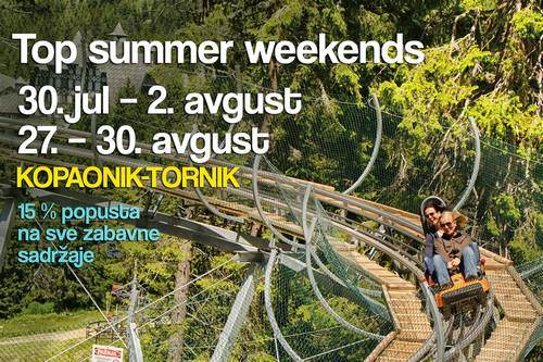 Top summer vikendi na planinama Srbije