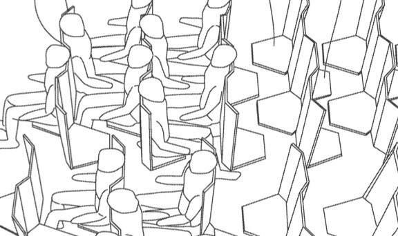 Novi model rasporeda sedišta koji štedi prostor u avionima