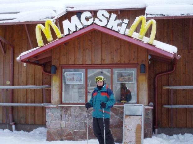 Znate li gde je jedini ski-in McDonald's restoran na svetu?