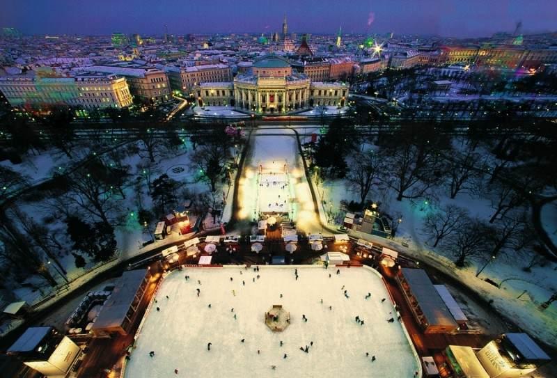 Beč vas poziva na zimske čarolije