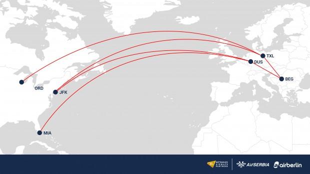 Air Serbia najavljuje letove za Čikago, Njujork i Majami!