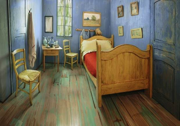 Van Gogh nudi svoju sobu putem Airbnb-a