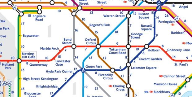 Nova mapa London Tube-a promoviše pešačenje!