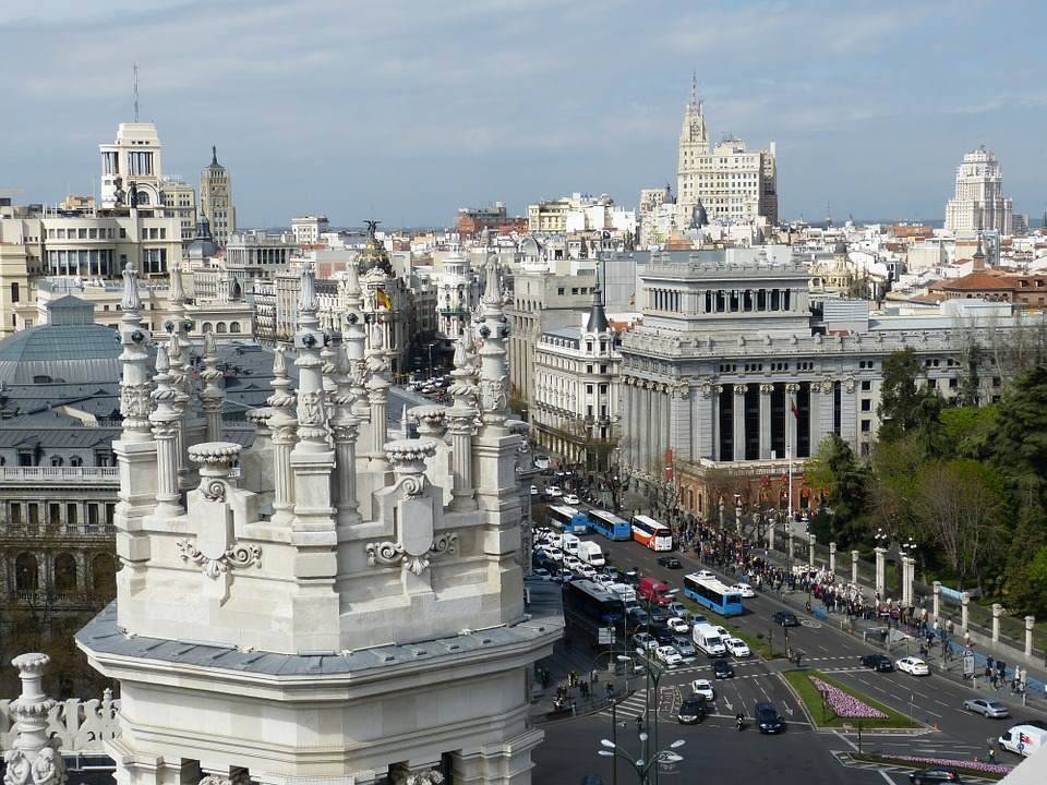 Povratne avio karte do Madrida za 80 eur