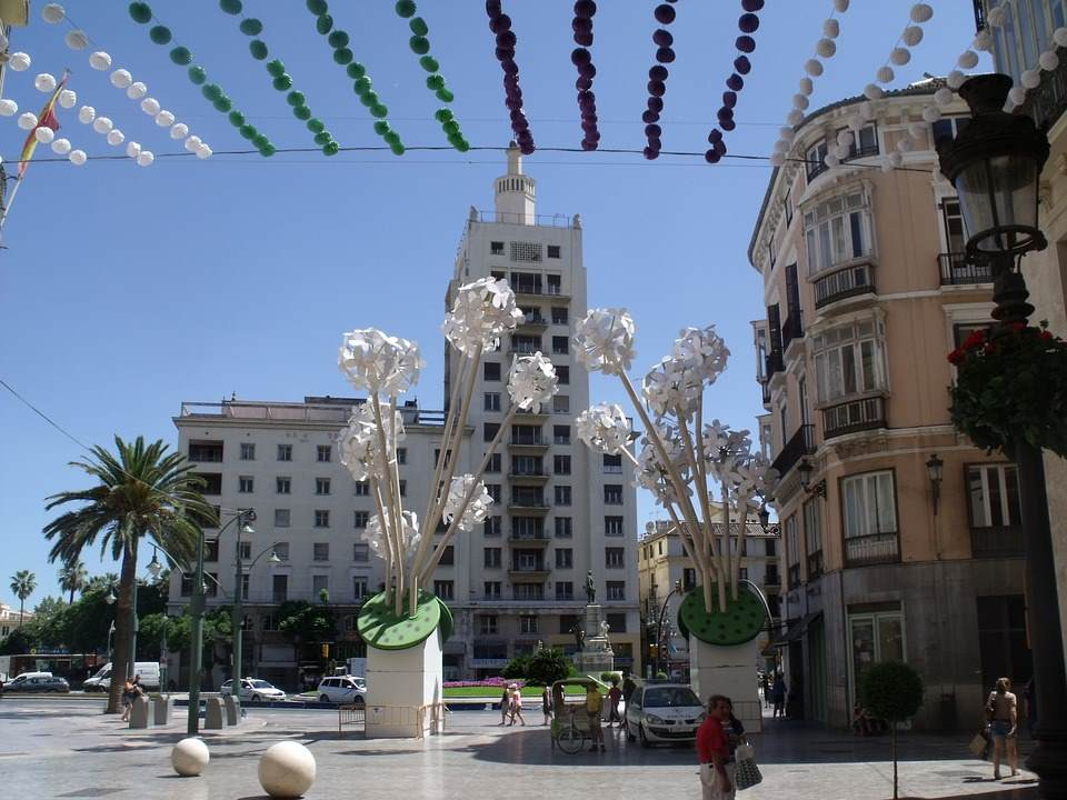 Povratne avio karte do Malage za 76 eur