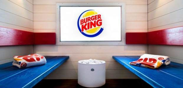 Burger King u Finskoj dobija saunu