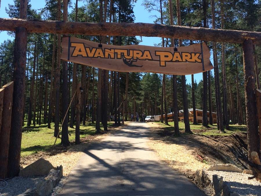 "Adrenalin park ""Avantura park"" na Zlatiboru"