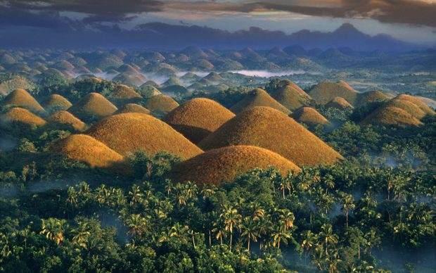 Da li ste već čuli za Čokoladna brda na Filipinima?