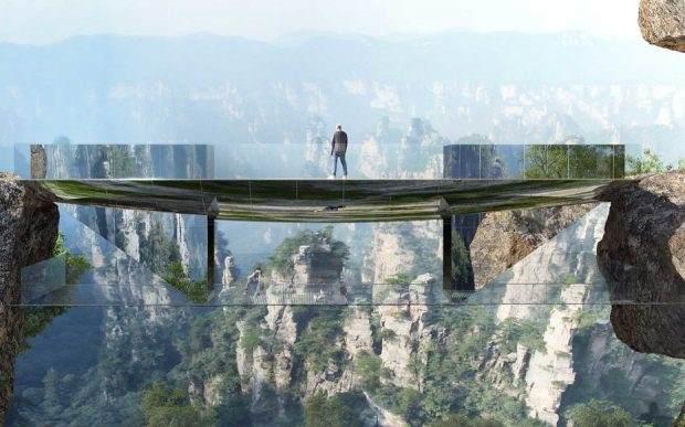 Nevidljivi mostovi – nove atrakcije nacionalnih parkova u Kini
