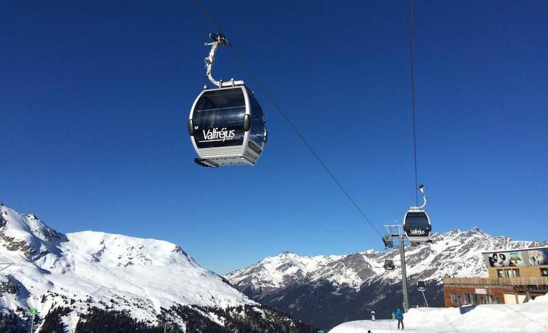 Valfrejus, Francuska – ski opening