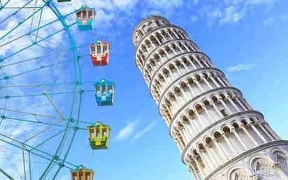 Krivom tornju u Pizi uskoro će se pridružiti i panoramski točak