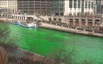 Zašto na Dan svetog Patrika sve poprima zelenu boju?