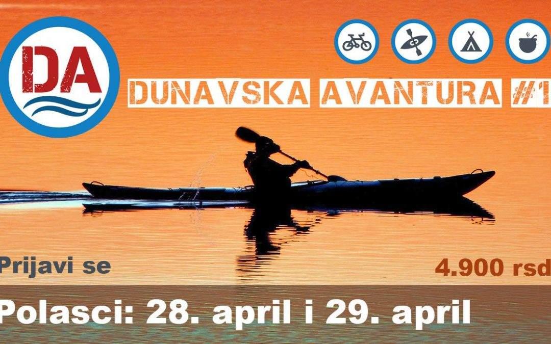 Započnite sa nama novu sezonu avanture: Dunavska Avantura #1