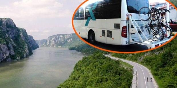 Prvi autobus za bicikliste na liniji Beograd-Kladovo