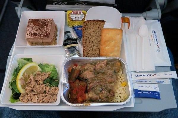 Aeroflot omiljen među vegetarijancima