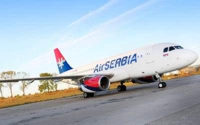 Čekiranje na šalterima Air Serbia se naplaćuje od 26.marta