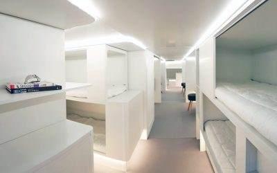Konačno stižu spavaće kabine u trupu aviona