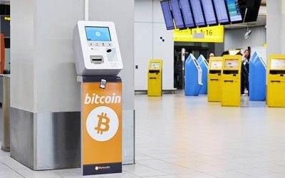 Na aerodromu Shiphol otvoren bankomat za kriptovalute