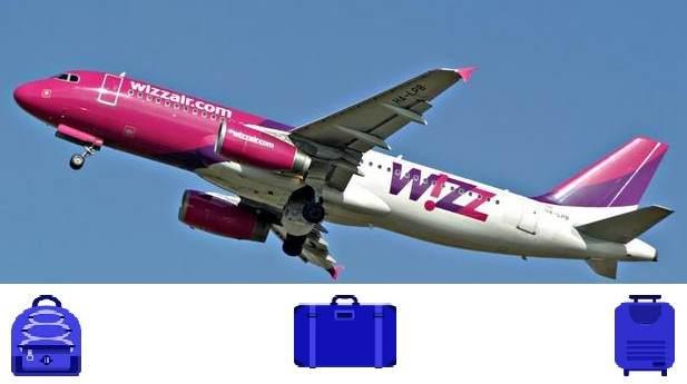Wizzair uvodi nova pravila u vezi sa ručnim prtljagom