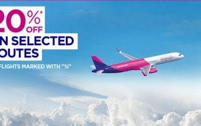 Wizzair – 20% popusta na pojedine letove