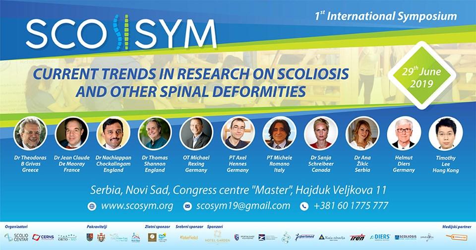 ScoSym – Prvi međunarodni simpozijum o skoliozi kičme