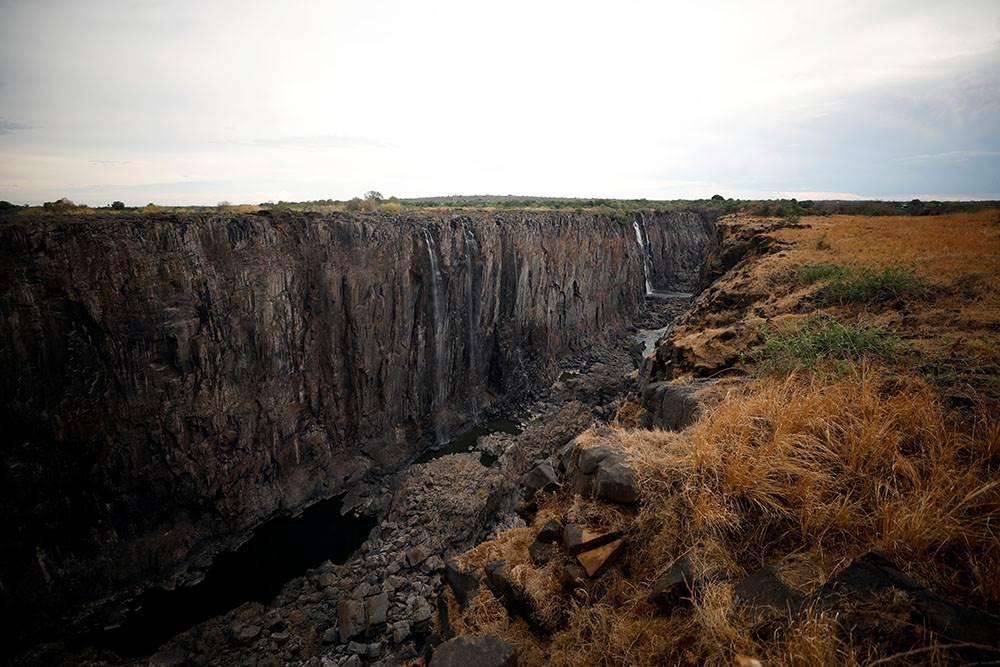 Viktorijini vodopadi presušili